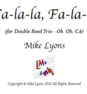 Oboe Trio – Fa-la-la, Fa-la-la