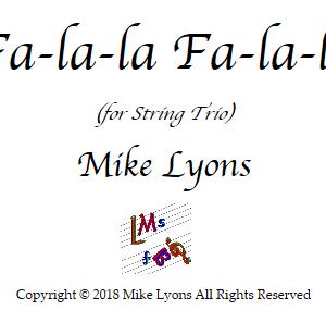 String Trio – Fa-la-la, Fa-la-la