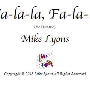Flute Trio – Fa-la-la, Fa-la-la