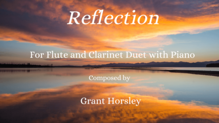 Reflections flute and clarinet
