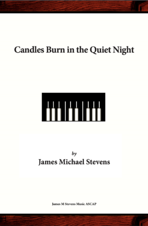 Candles Burn in the Quiet Night – Piano Solo