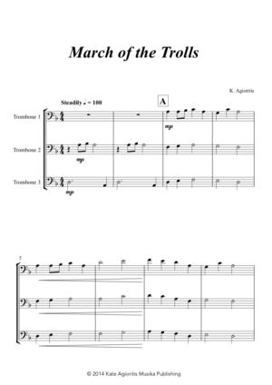 March of the Trolls – Trombone Trio