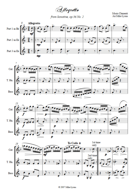 allegretto clementi