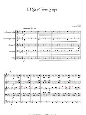 Brass Quintet – Seven Carols for Brass