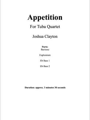 Appetition – Tuba Quartet