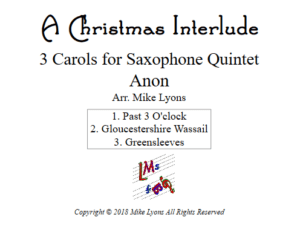 Saxophone Quintet – A Christmas Interlude