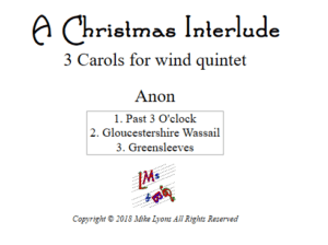 Wind Quintet – A Christmas Interlude