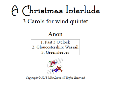 christmas interlude WW