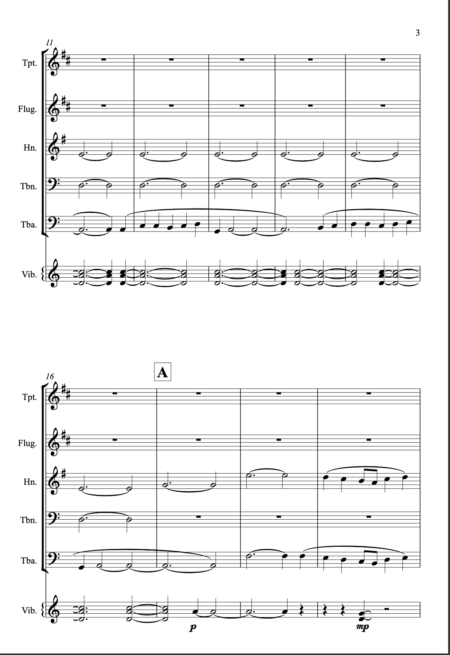 Meditation for brass page 3