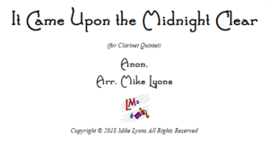 Clarinet Quintet – It Came Upon the Midnight Clear
