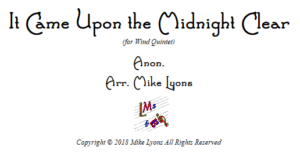Wind Quintet – It Came Upon the Midnight Clear