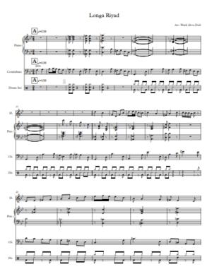 Longa Riad – Flute and Jazz Trio