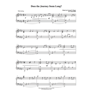 Does the Journey Seem Long? – Intermediate Piano Solo