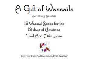 String Quintet – A Gift of Wassails