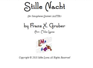 Stille Nacht – Saxophone Quintet