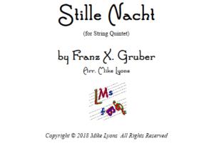Stille Nacht – String Quintet