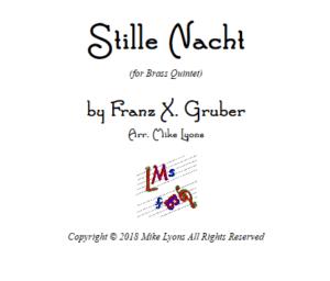 Stille Nacht – Brass Quintet