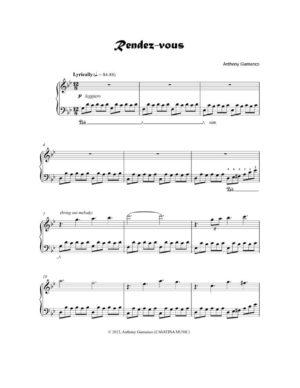 RENDEZ-VOUS – piano solo