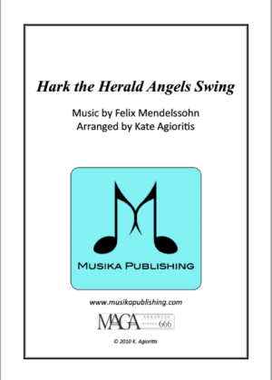 Hark the Herald Angels SWING! – for Flute Quartet