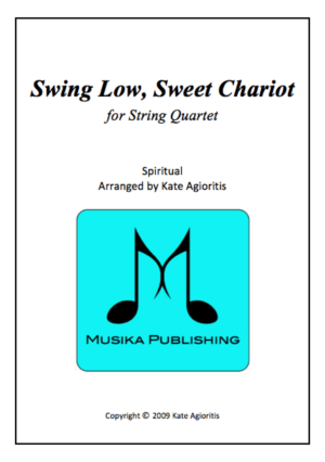 Swing Low, Sweet Chariot – Jazz Arrangement for String Quartet