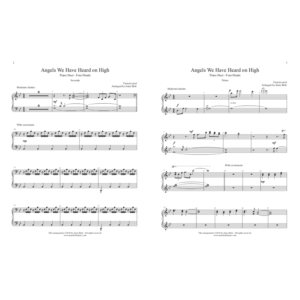 Angels We Have Heard on High – intermediate piano duet