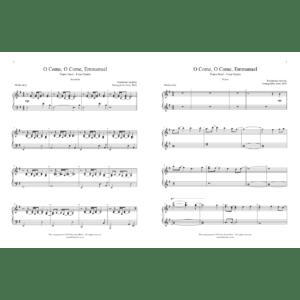 O Come, O Come, Emmanuel – Intermediate Piano Duet