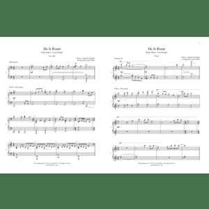 He Is Risen – Intermediate Piano Duet