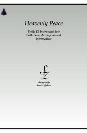 Heavenly Peace -Treble Eb Instrument Solo