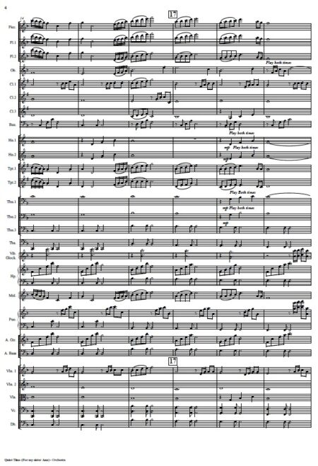 163 Quiet Time Small Orchestra SAMPLE page 04