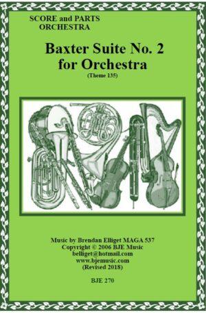 Baxter Suite No. 2 – Orchestra