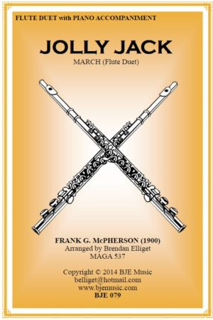 Jolly Jack March – Flute Duet and Piano