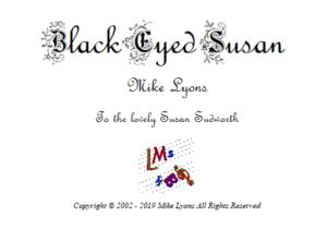 Bartone Horn Solo – Black Eyed Susan