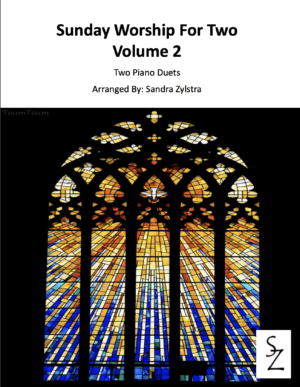 Sunday Worship For Two, Volume 2 -Two Piano Duets