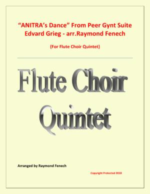 Anitra's Dance – Edvrd Grieg – Flute Choir Quintet
