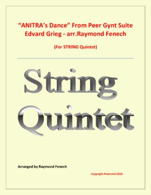 Anitra' Dance – Edvard Grieg – String Quintet
