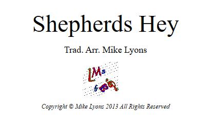 shepherds hey