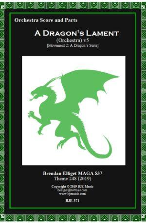 A Dragon's Lament (Mov.2) – Orchestra