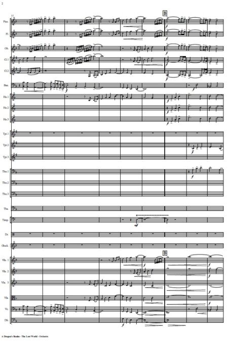 365 A Dragons Realm The Lost World Orchestra SAMPLE page 02