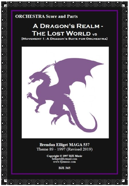365 FC New A Dragons Realm The Lost World Orchesstra