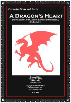A Dragon's Heart (Mov.3) – Orchestra