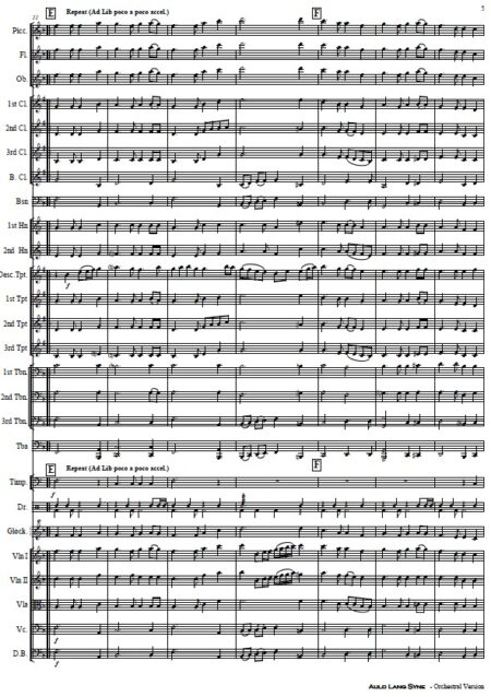 024 Auld Lang Syne Orchestra SAMPLE page 05