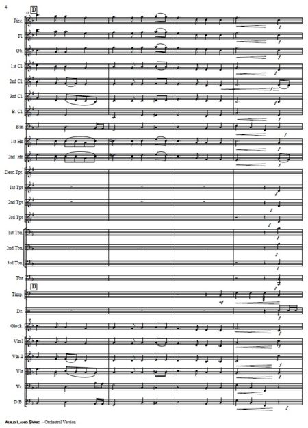 024 Auld Lang Syne Orchestra SAMPLE page 04