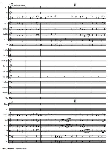 024 Auld Lang Syne Orchestra SAMPLE page 02