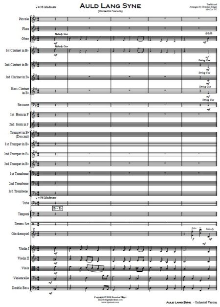 024 Auld Lang Syne Orchestra SAMPLE page 01
