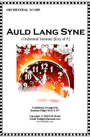 Auld Lang Syne – Orchestra