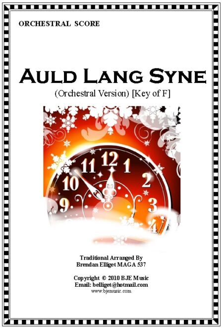 024 FC Auld Lang Syne Orchestra