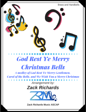 God Rest Ye Merry Christmas Bells for Handbells and Brass
