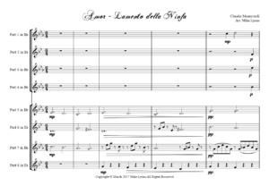 Brass Choir – Lamento della Ninfa