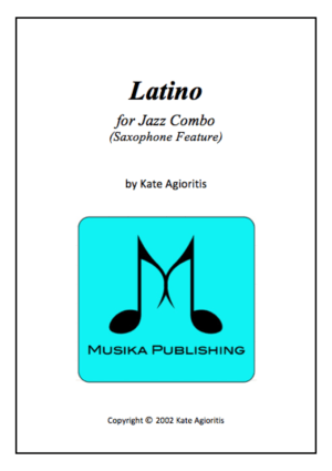 Latino – Saxophone Feature for Jazz Combo