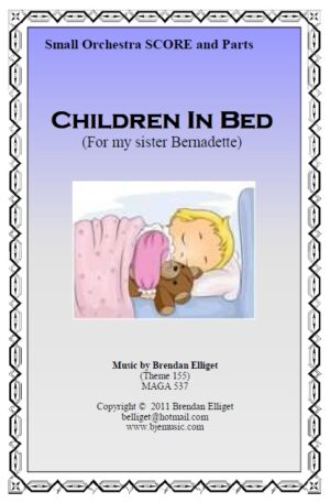 Children In Bed (For My Sister Bernadette) – Small Orchestra